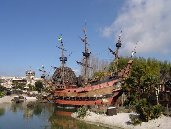 Adventureland, Парижский Диснейленд