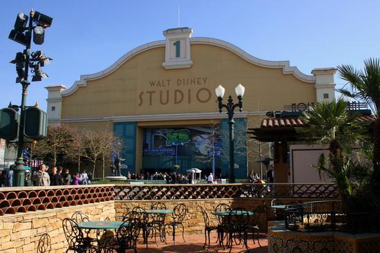 Студия 1 в Walt Disney Studios Park, Диснейленд, Париж