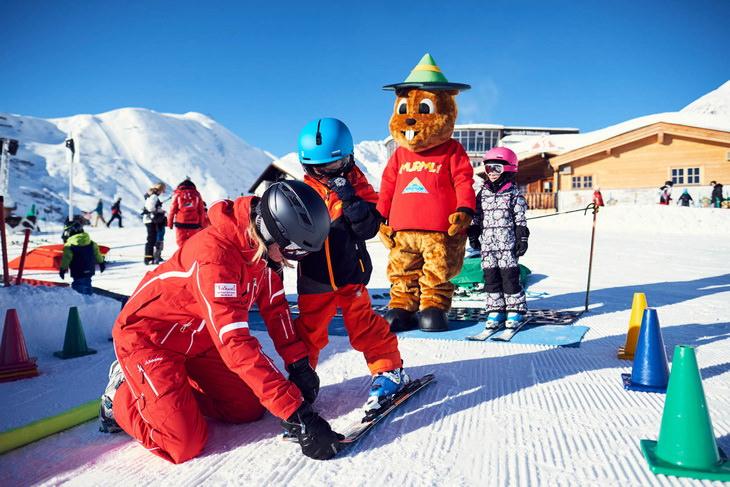 Австрийский горнолыжный курорт Серфаус