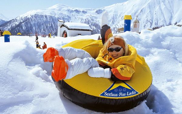 Путешествие с детьми на горнолыжный курорт Серфаус - Фисс - Ладис