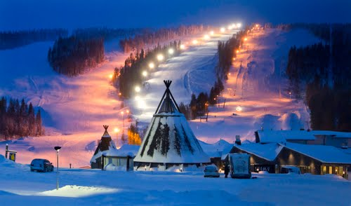 Горнолыжные курорты Финляндии. Суомутунтури