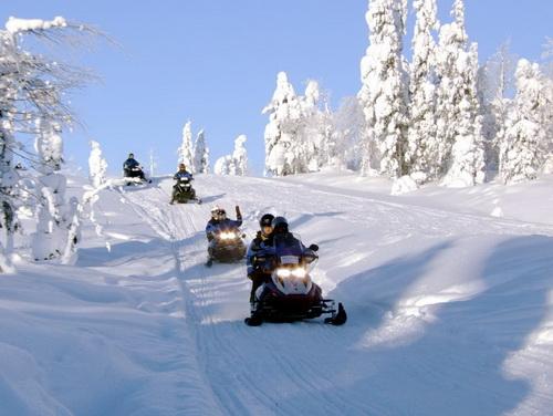 Горнолыжный курорт Суомутунтури. Финляндия