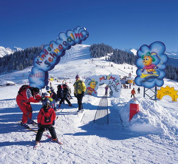 Путешествие с детьми на горнолыжный курорт Серфаус - Фисс - Ладис. Kinderschneealm