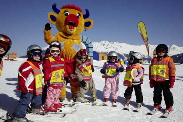 Путешествие с детьми на горнолыжный курорт Серфаус - Фисс - Ладис. Murmli-Park