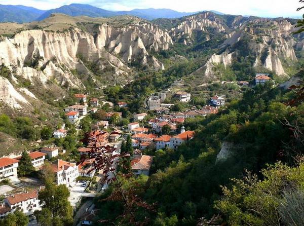 Самый маленький город Болгарии - Мельник