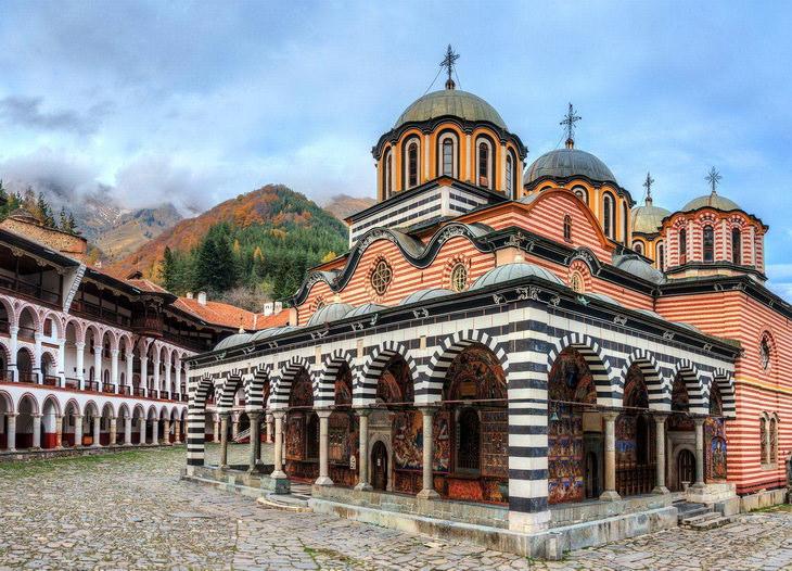 Рильский монастырь. Болгария