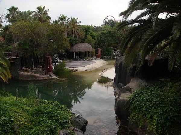 Порт Авентура. Полинезия