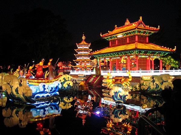 Куда поехать с детьми зимой. Китай