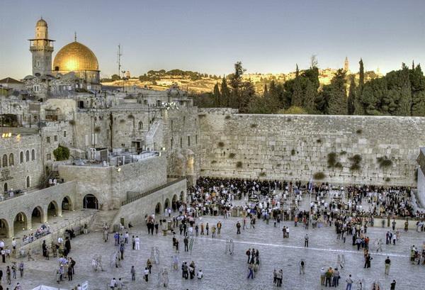Отдых в Израиле с детьми. Иерусалим. Стена плача