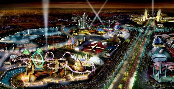 Тематический развлекательный парк для детей DreamWorks Animation