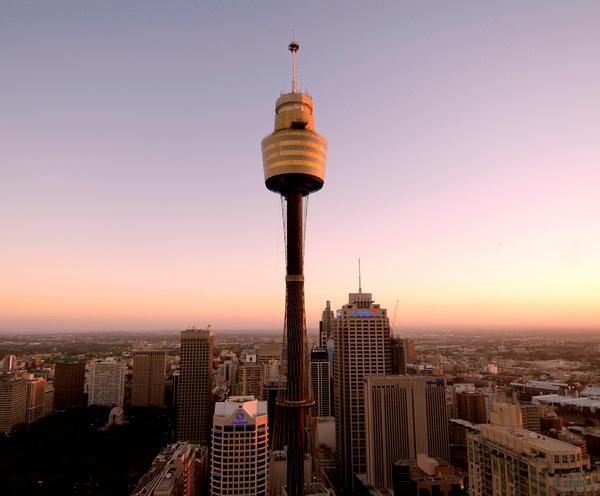Отдых в Австралии с детьми. Sydney Tower (Сиднейская башня)