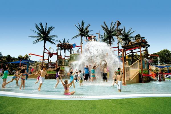 Отдых с детьми в Австралии. Аквапарк Wet'n Wild Water World