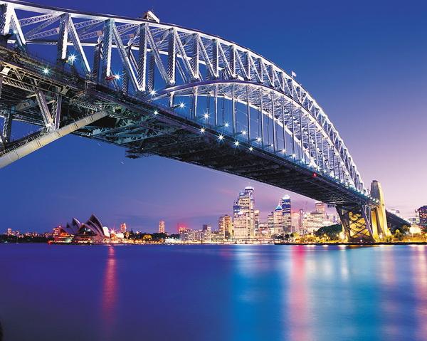 Путешествие с детьми в Австралию. Сиднейский мост