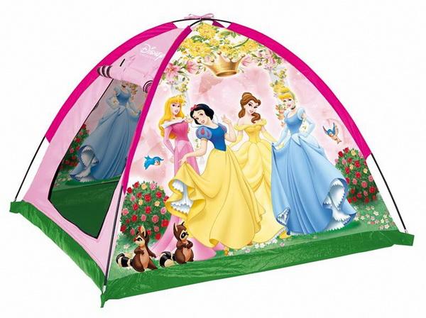 Домик для детей на даче. Палатка
