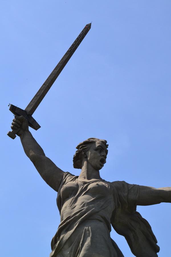 Статуя «Родина-мать!»