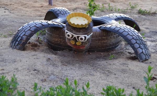Идеи оформления площадки для детей на даче