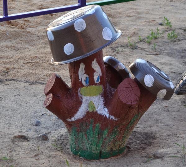 Идеи для обустройства площадки для детей на даче