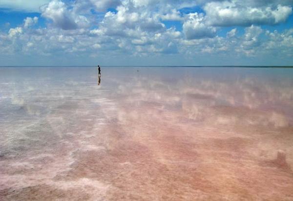 соленое озеро в волгоградской области эльтон фото