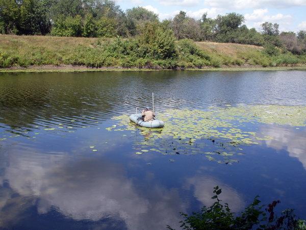 Рыбалка на реке Бузулук. Киквидзе