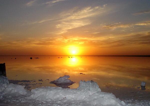 """Озеро Эльтон – """"золотое"""" озеро в Волгоградской области"""