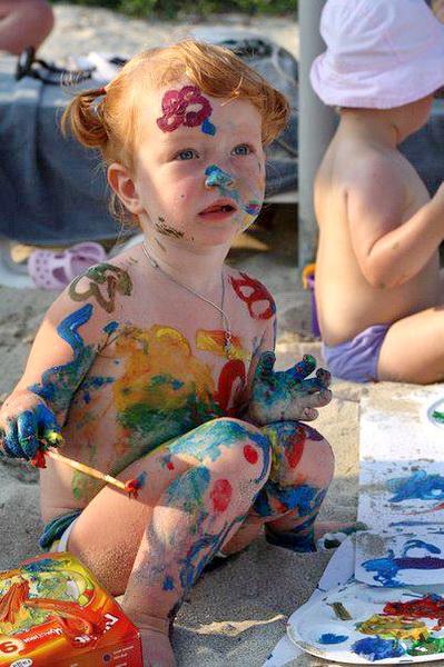 Рисование с ребенком 2-3 лет Сто тысяч почему 39