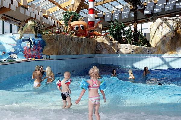 аквапарк AquaPalace в Праге