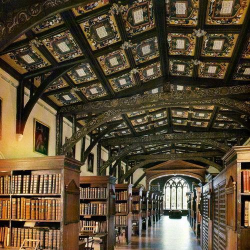 Bodleian-Library Бодлианская библиетка оксфорд гарри поттер