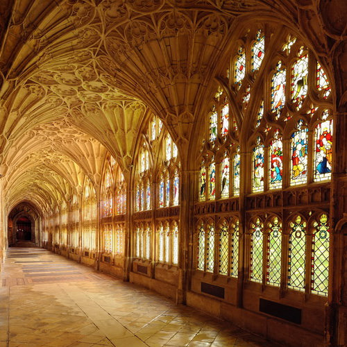 Gloucester Cathedral Глостерский Собор Хогвартс