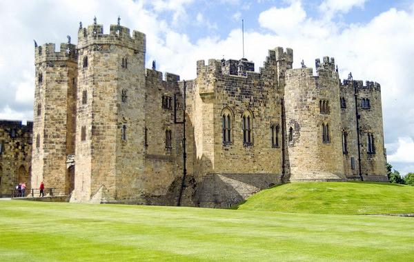 Hogwarts Alnwick Castle Хогвартс замок Эник