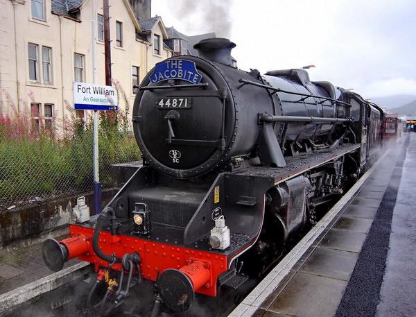 Jacobite Steam Train Хогвартс Экспресс