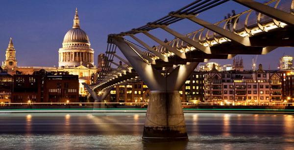 мост миллениум лондон