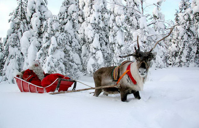 Сказочное путешествие в гости к Санта-Клаусу в Лапландию