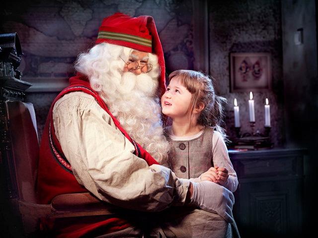 Санта-Клаус в Финляндии