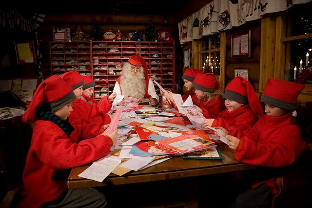 Почта Санта-Клауса в Лапландии
