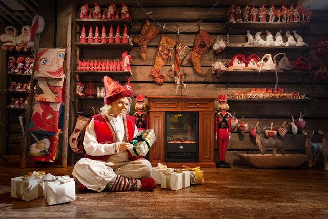 Офис Санта-Клауса в Рованиеми Финляндия