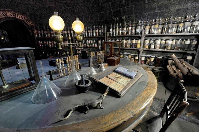 Кабинет в Хогвартсе. Музей Гарри Поттера