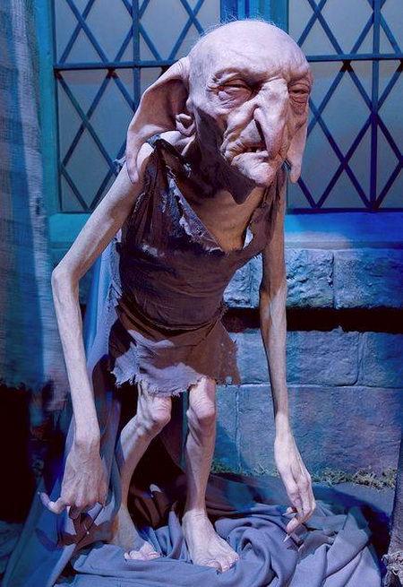 Экспонаты музея Гарри Поттера