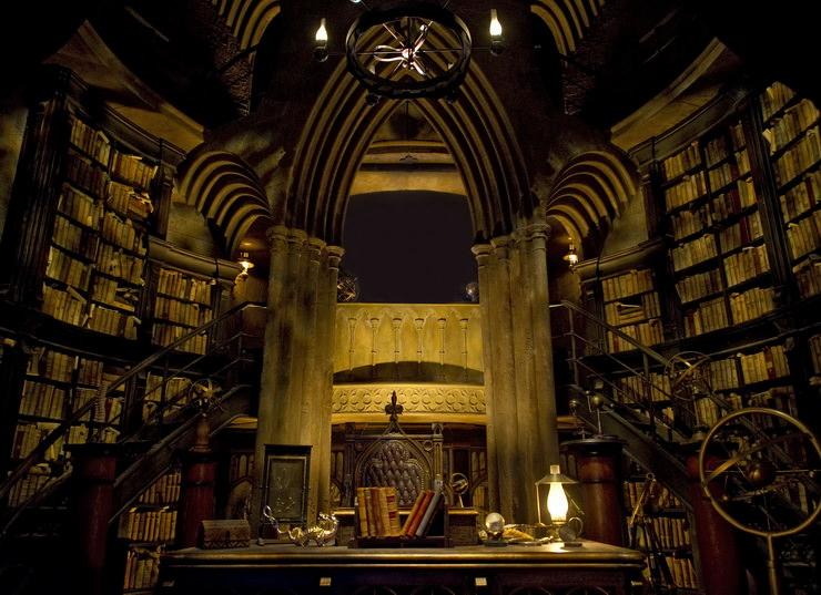 волшебный мир гарри поттера хогвартс кабинет Дамблдора