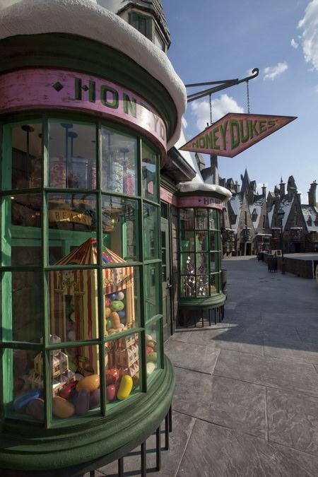 волшебный мир гарри поттера сладкое королевство