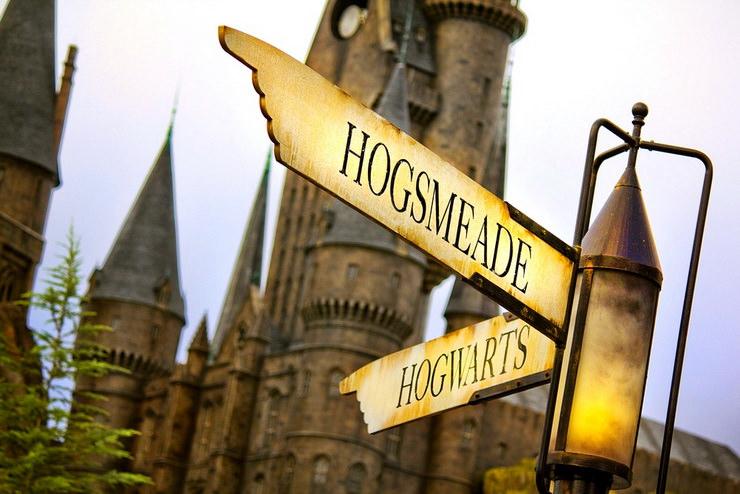 волшебный мир гарри поттера указатель хогвартс хогсмид