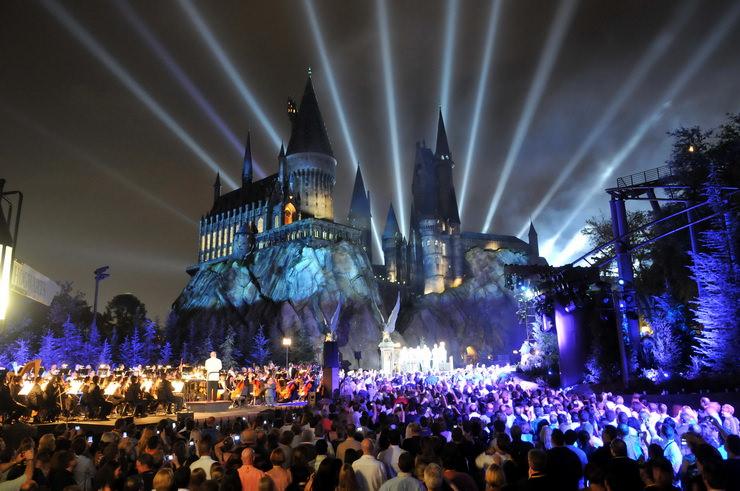 волшебный мир гарри поттера замок хогвартс