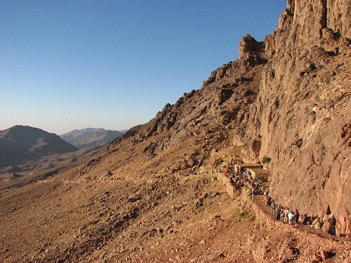 Гора Моисея Синай в Египте