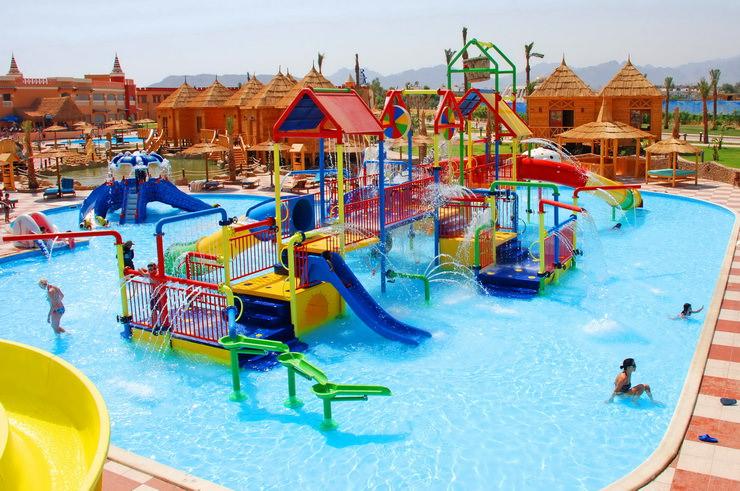 Отели Хургады для семейного отдыха с детьми: Aqua Blue Resort
