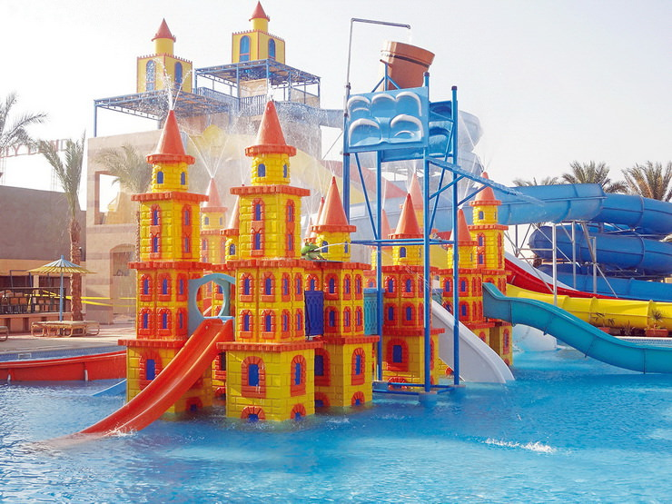 Отели для семейного отдыха с детьми в Хургаде: Lilly Land Beach Club