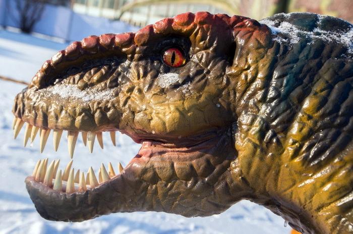 Парк динозавров «Веселый Дино» ВВЦ Москва