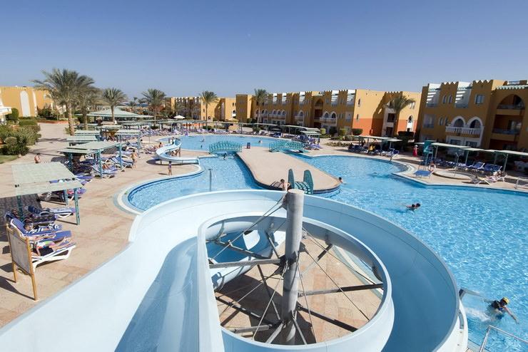 Отели для семейного отдыха с детьми в Хургаде: Sunrise Garden Beach Resort