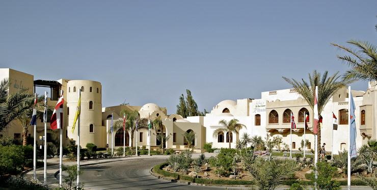 Отели Хургады для семейного отдыха: The Three Corners Sunny Beach Resort