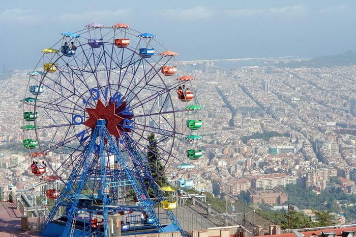 Tibidabo Испания Барселона