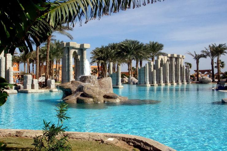 Отели Шарм-эль-Шейха для отдыха с детьми: Tropicana Grand Azure Resort