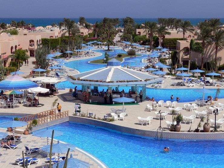 Отели для семейного отдыха в Хургаде, Египет: ali baba palace